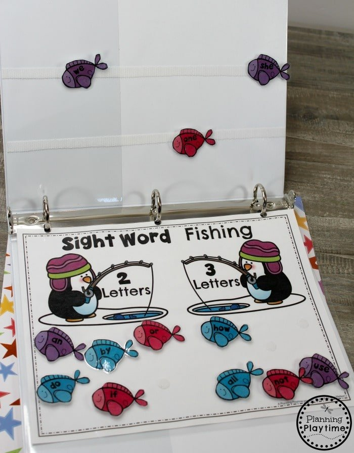 Sight Words Activities for Kindergarten #planningplaytime #sightwords #kindergarten #kindergartenworksheets #literacycenters