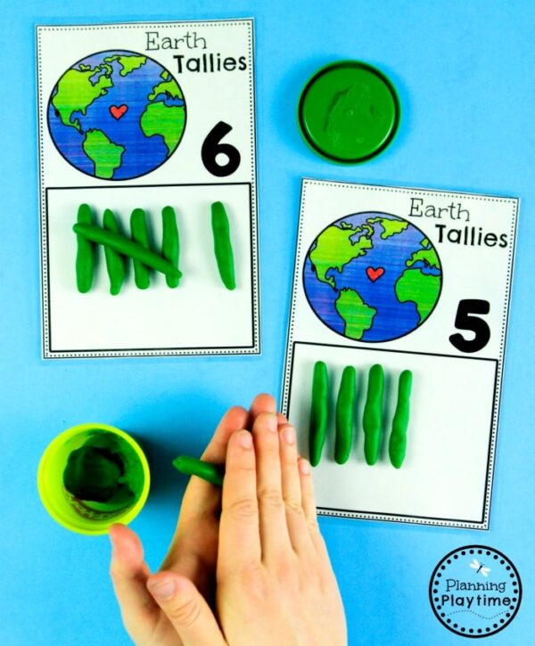 Earth Day Activities - Math and Counting