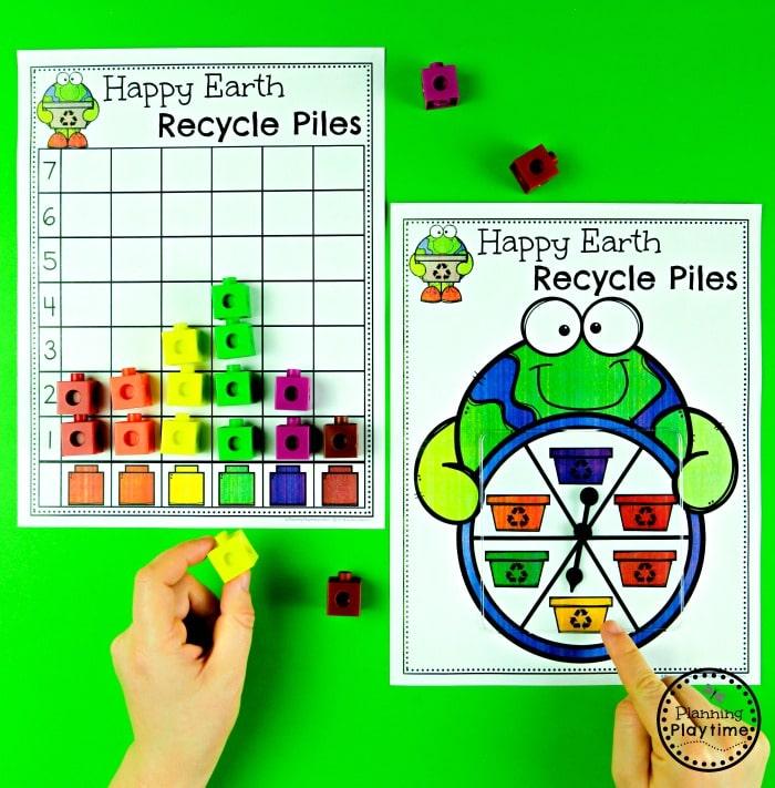 Preschool Earth Day Activities  #planningplaytime #earthday #preschool #preschoolworksheets