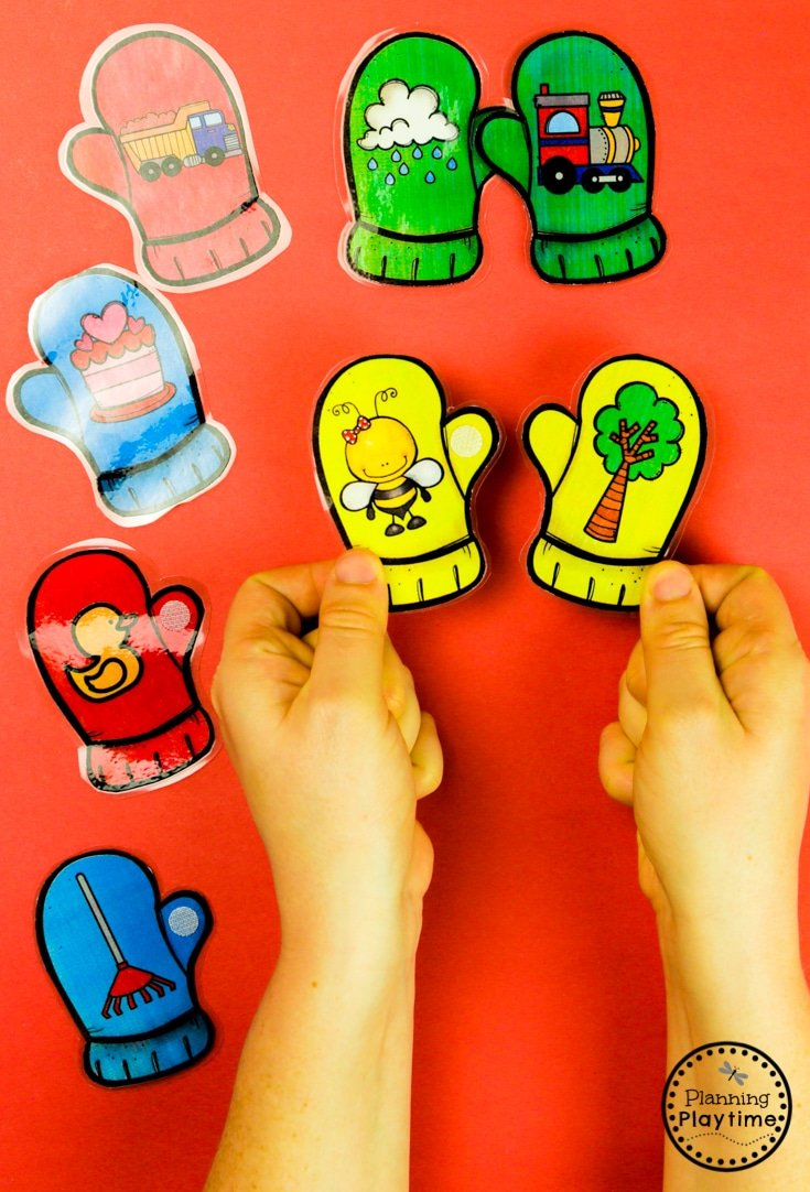 Rhyming Words Activities for Kids