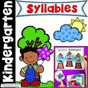Syllables Worksheets and Activities for Kids