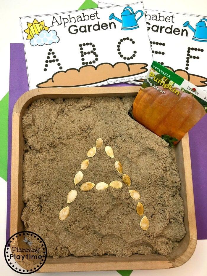 Preschool Letter Activities - Spring Preschool Centers