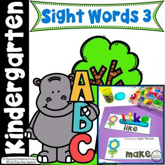 Sight Word Games for Kindergarten