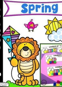 Spring Preschool Theme Activities and Worksheets