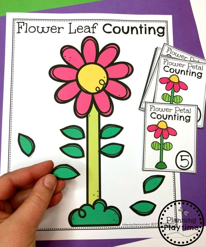 Spring Preschool Activities - Math Centers