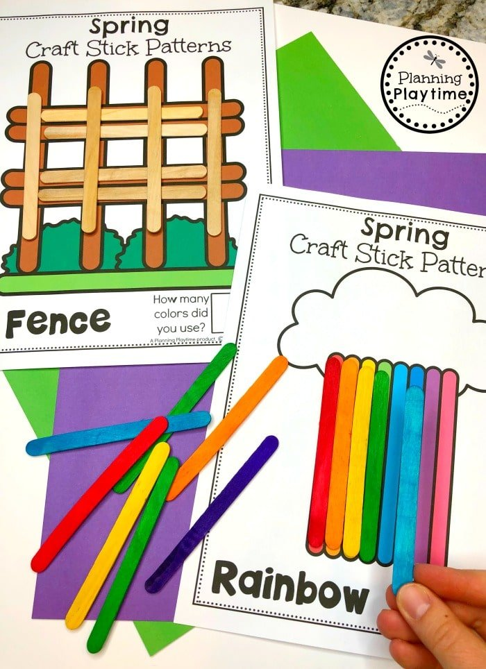 Spring Preschool Activities and Centers