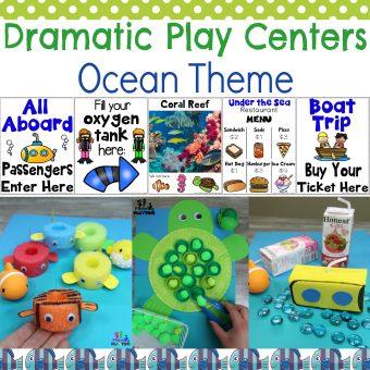 Ocean Theme Dramatic Play