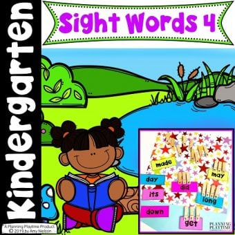 Kindergarten Sight Words Printables, Activities and Worksheets