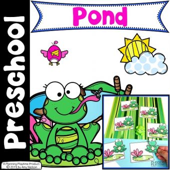 Pond Theme Preschool - Preschool Printables, Activities and Worksheets