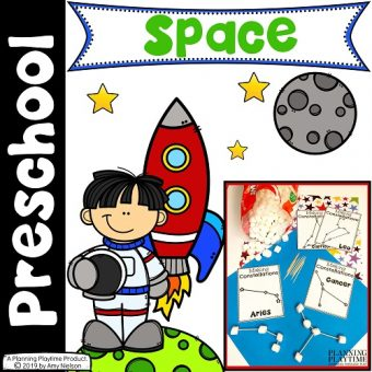 Space Theme Preschool Activities and Printables