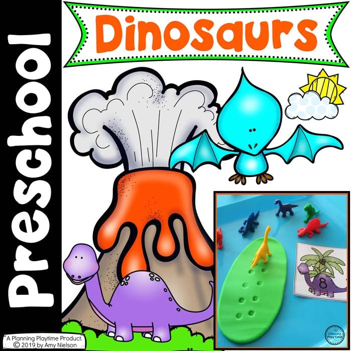 Dinosaur Theme - Preschool - Planning Playtime