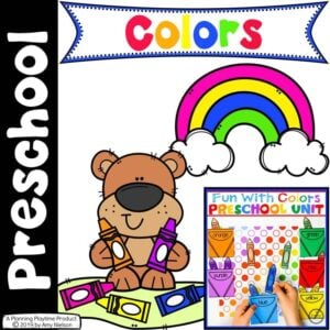 Preschool Centers - Color Theme