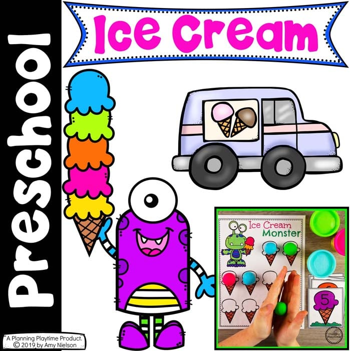 Preschool Centers - Ice Cream Theme