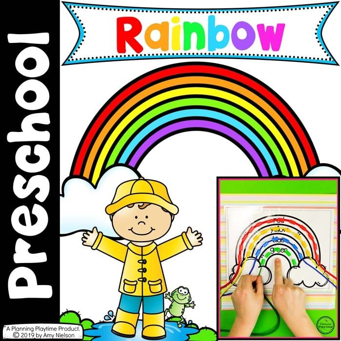 Preschool Rainbow Activities