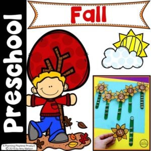Preschool Thanksgiving Activities