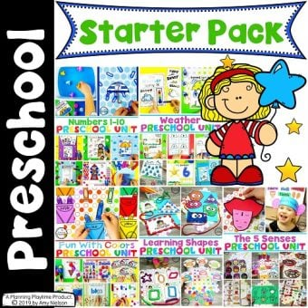 Preschool Curriculum Starter Pack