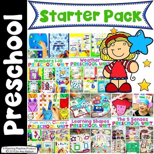 Preschool Curriculum Starter Pack