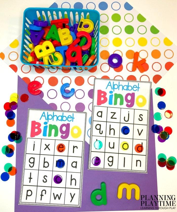 Alphabet Worksheets - Planning Playtime