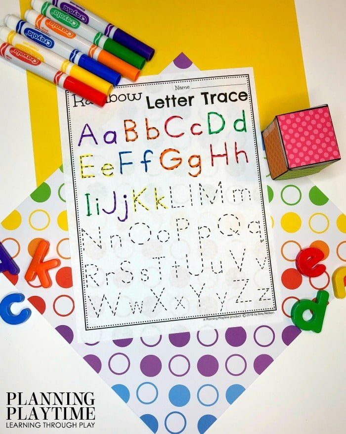 Letter Tracing Worksheets for Letter Recognition #lettertracing #letterworksheets #alphabetworksheets #preschoolworksheets #preschoolactivities #alphabetactivities #planningplaytime
