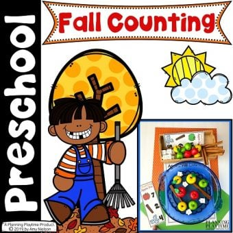 Fall Counting Mats for Preschool or Kinder