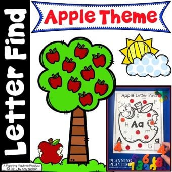 Letter Find Apples Cover - Small
