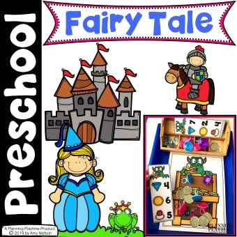 Fairy Tale Activities for Preschool - Preschool Fairy Tale theme
