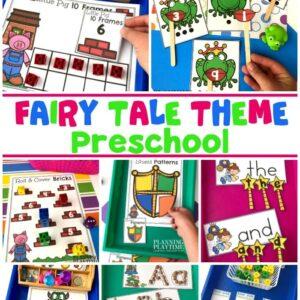 Fairy Tale Theme Preschool Activities