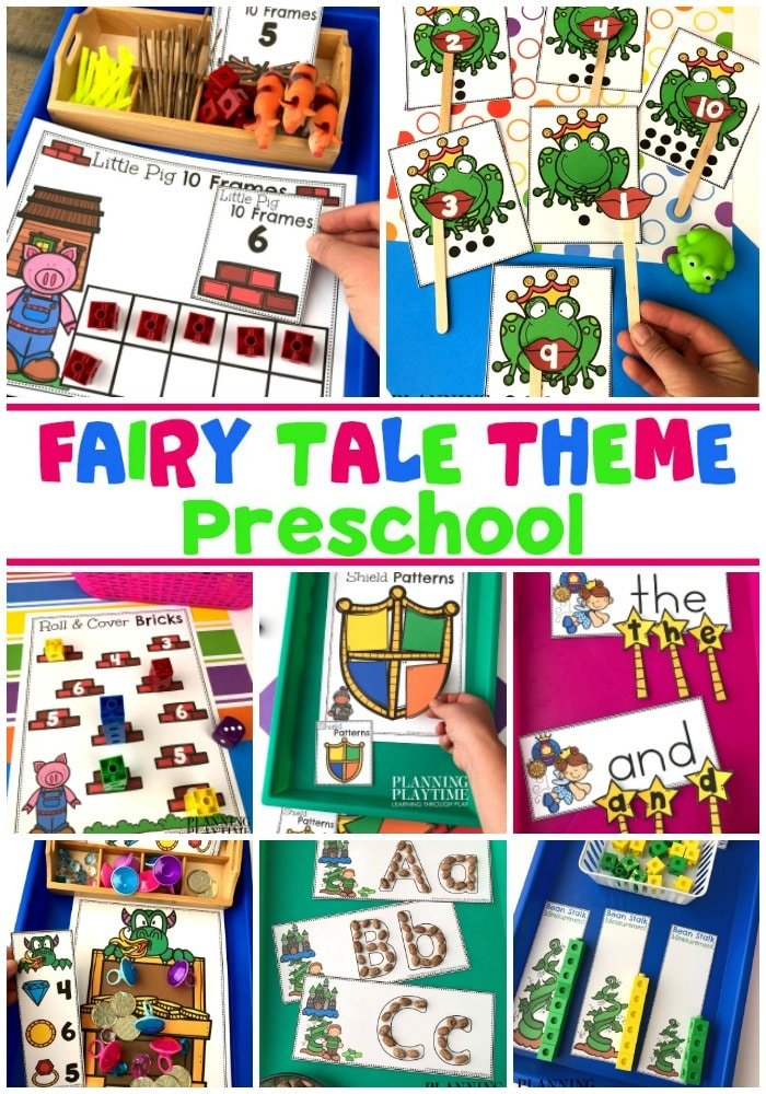 Fairy Tale Theme Preschool Activities