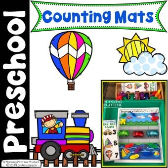 Transportation Counting Mats Cover