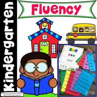 Reading Fluency Activities Cover