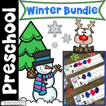 Winter Preschool Bundle