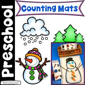 Winter Counting Mats Cover