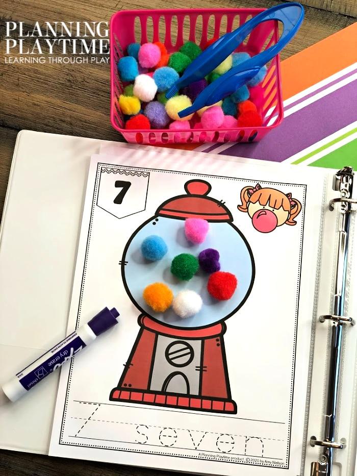 Fun Math Activities for Preschool or Kindergarten