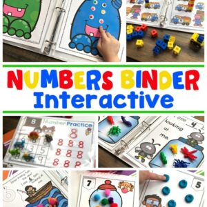 Numbers - Math Activities for Preschool or Kindergarten