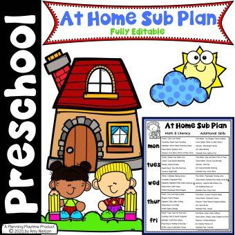 Send Hom Sub Plan Week 3 Distance Learning
