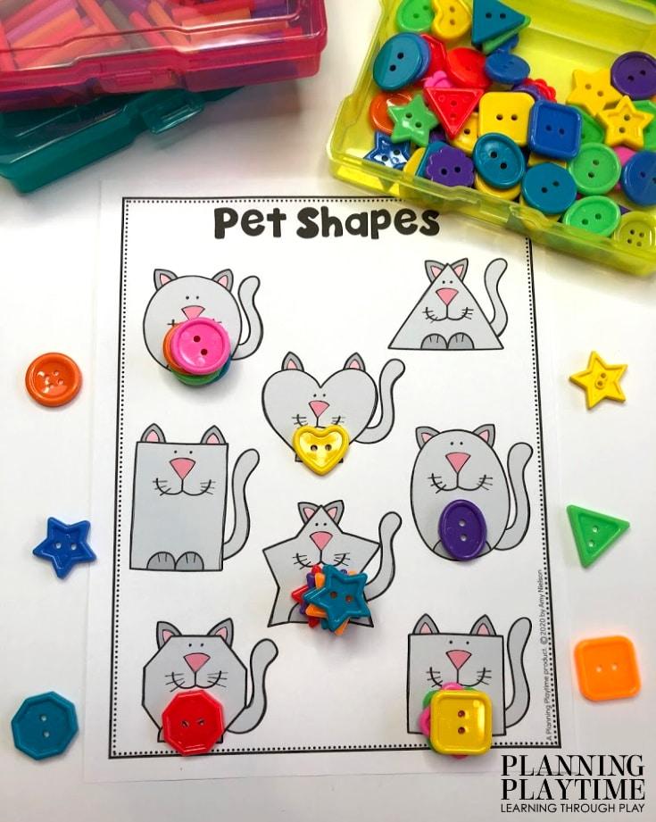 Pet Activities For Preschool - Planning Playtime