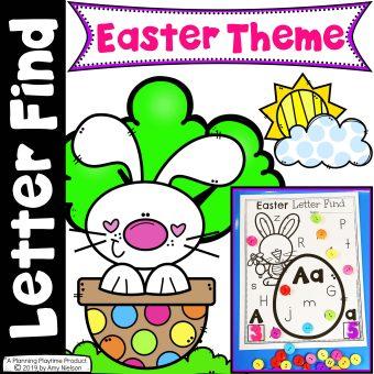 Letter Find Easter Cover