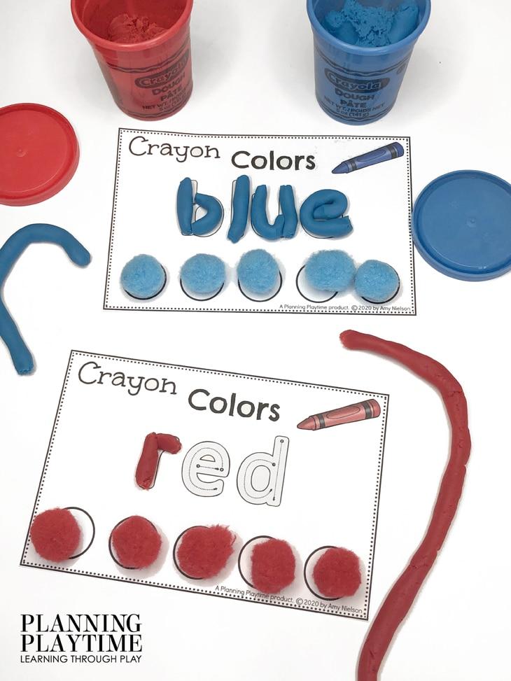 Colors Activities for Preschool