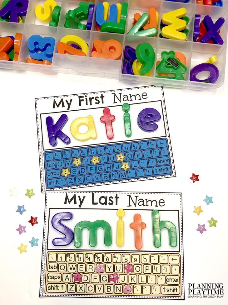 Preschool Activities - Name Spelling