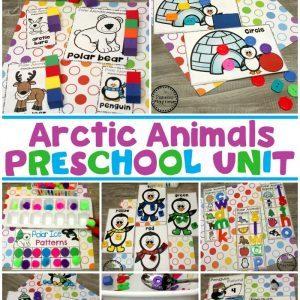 Arctic Animals Activities for Kids #arcticanimals #preschoolactivities #planningplaytime