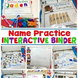 Name Practice Worksheets